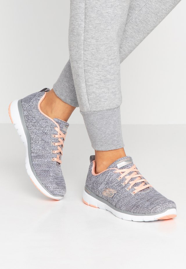 FLEX APPEAL 3.0 - Trainers - gray/coral