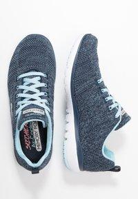Skechers Sport - FLEX APPEAL 3.0 - Sneaker low - navy/blue - 3