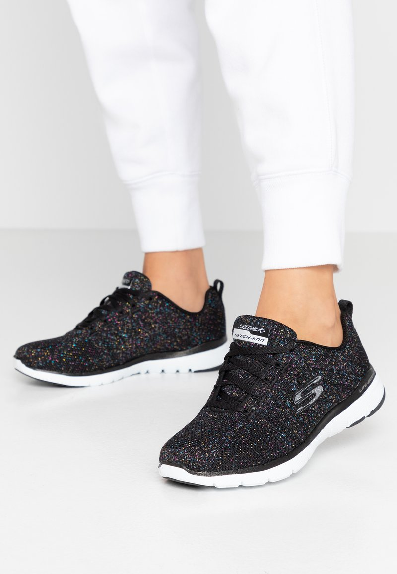 Skechers Sport - FLEX APPEAL 3.0 - Tenisky - black/multicolor