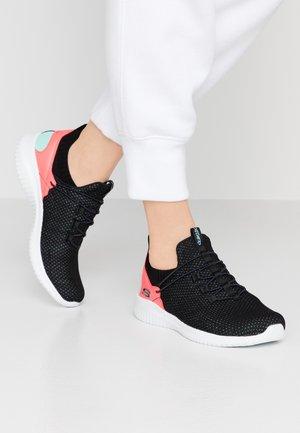 ULTRA FLEX - Sneakers - black/aqua/multicolor