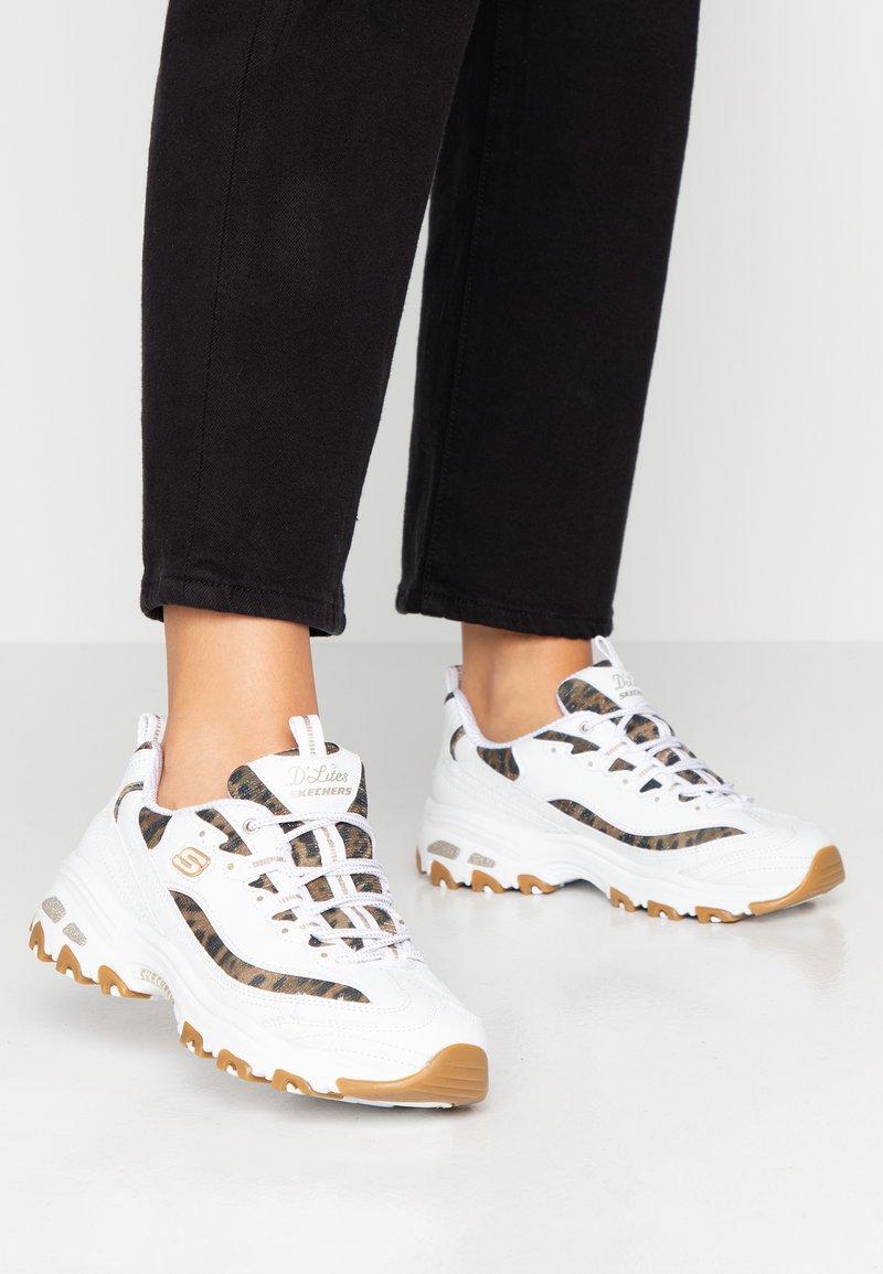 Skechers Sport - D'LITES - Sneaker low - white
