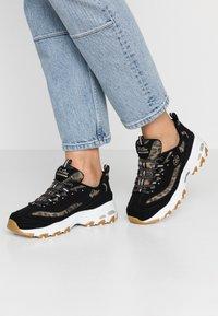 Skechers Sport - D'LITES - Sneakers laag - black/white - 0