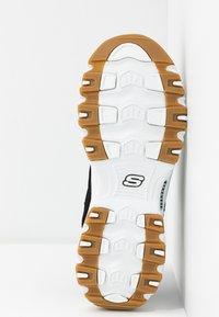 Skechers Sport - D'LITES - Sneakers laag - black/white - 6
