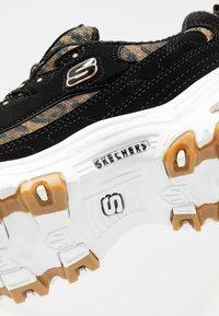 Skechers Sport - D'LITES - Sneakers laag - black/white - 2