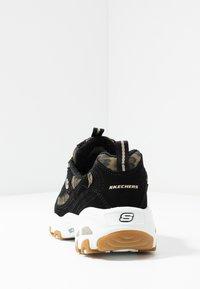 Skechers Sport - D'LITES - Sneakers laag - black/white - 5