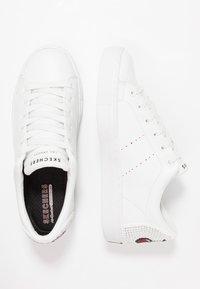 Skechers Sport - SIDE STREET - Sneakers - white - 3