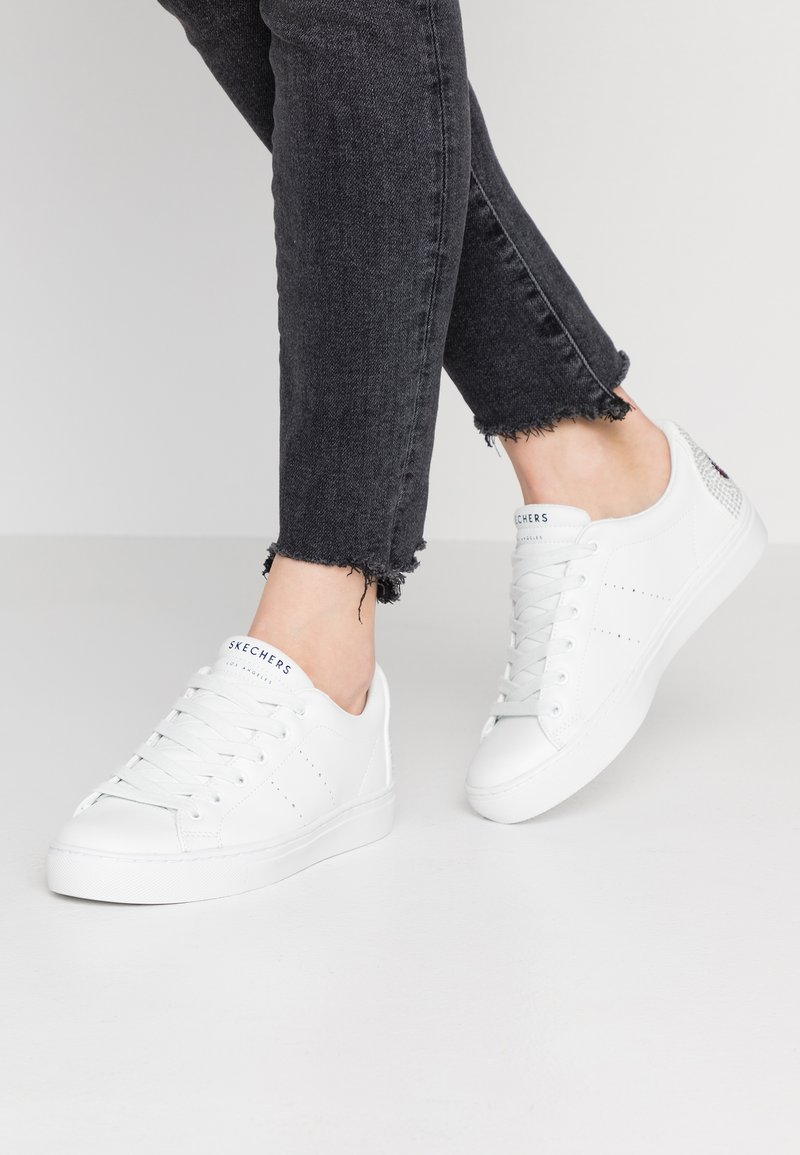 Skechers Sport - SIDE STREET - Sneakers - white