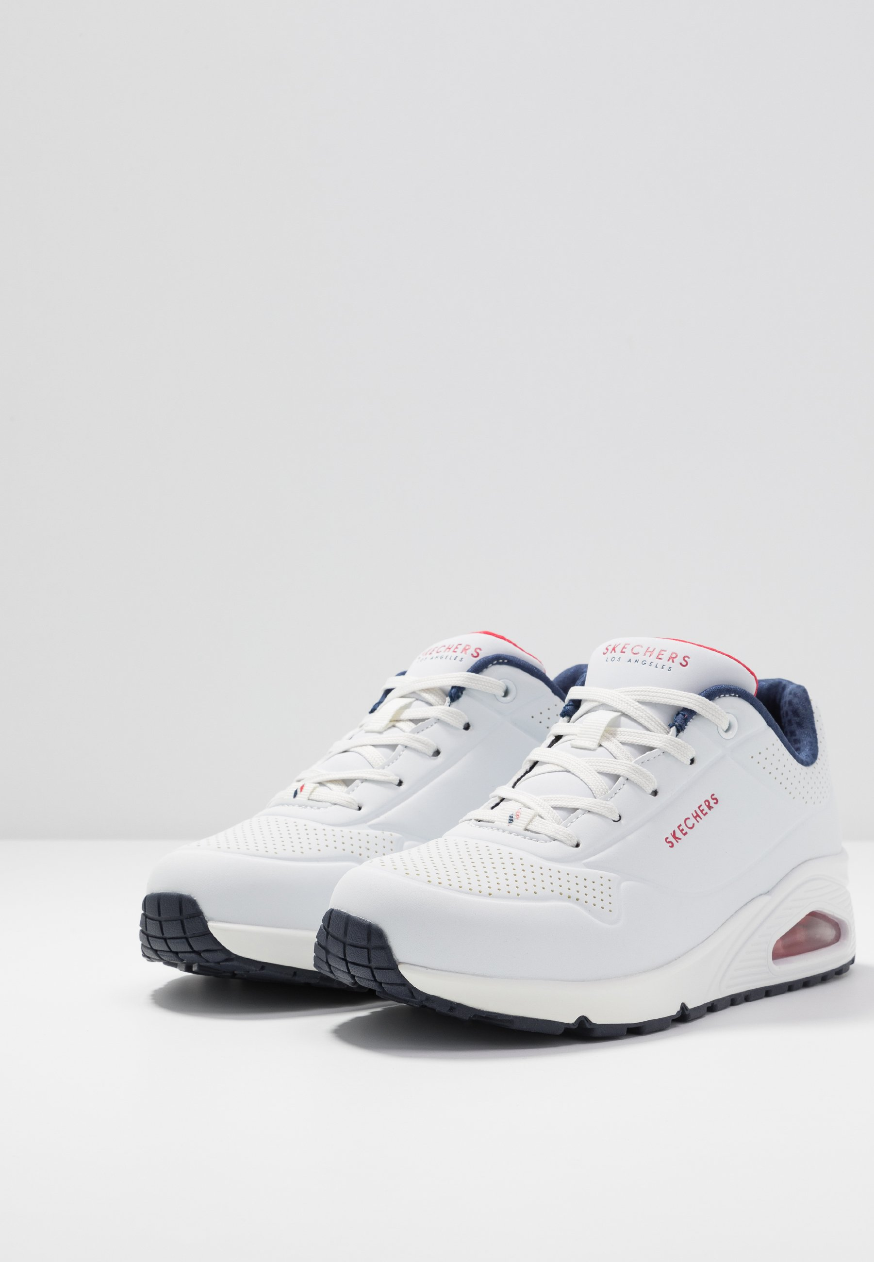 Skechers Sport UNO - Trainers - white/navy/red