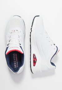 Skechers Sport - UNO - Trainers - white/navy/red - 3