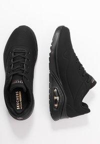 Skechers Sport - UNO - Sneakers laag - black - 3