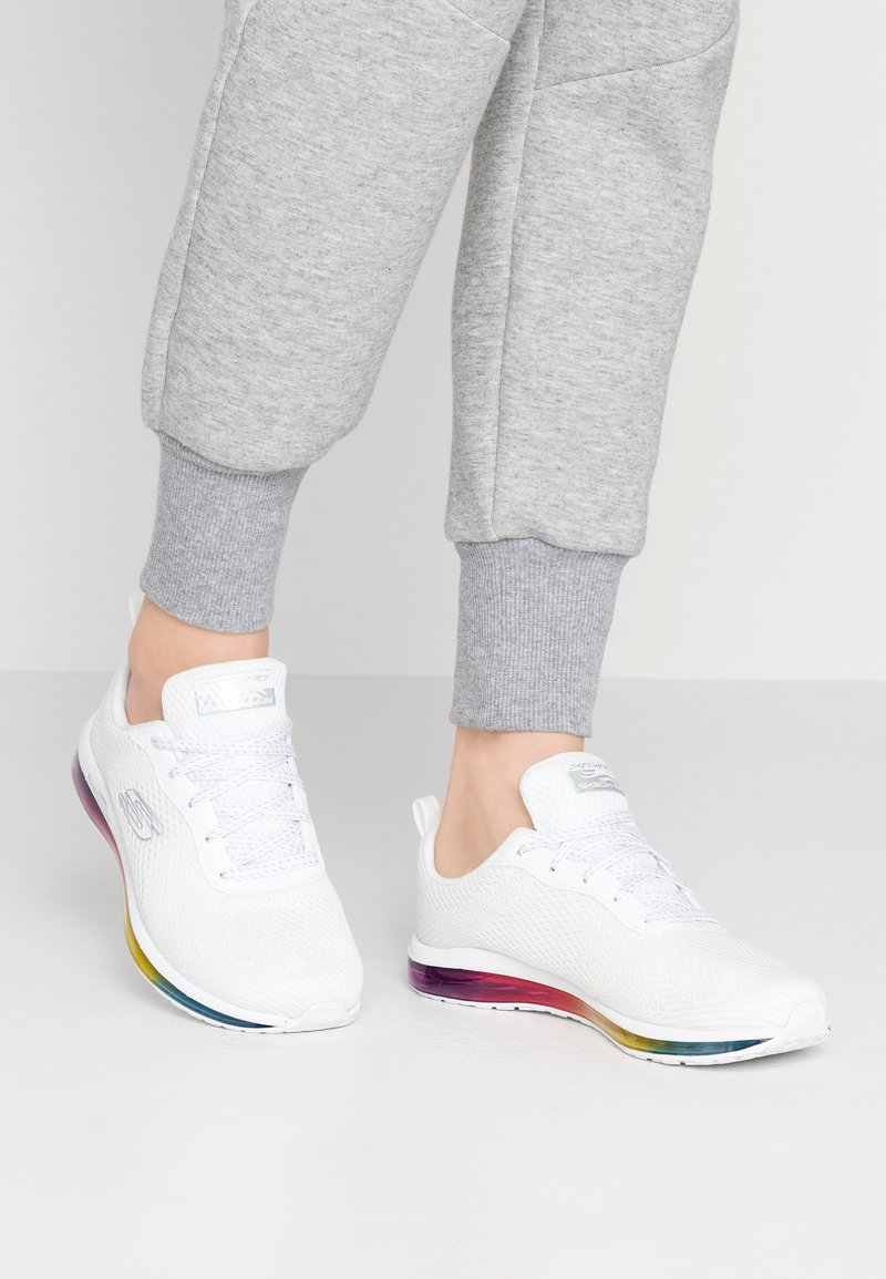 Skechers Sport - SKECH-AIR - Trainers - white/multicolor