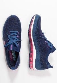 Skechers Sport - SKECH-AIR ELEMENT - Sneakers - navy/hot pink - 3
