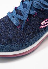 Skechers Sport - SKECH-AIR ELEMENT - Sneakers - navy/hot pink - 2