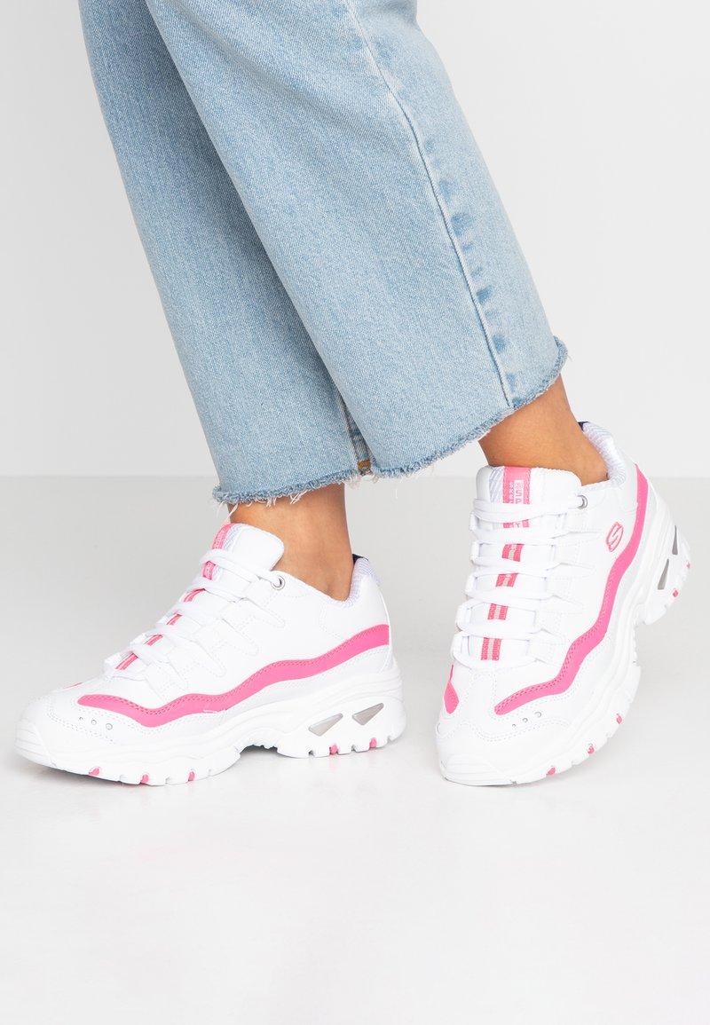 Skechers Sport - ENERGY - Baskets basses - white/pink