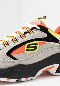 Skechers Sport - STAMINA - Sneakers laag - gray/orange/yellow/black - 2