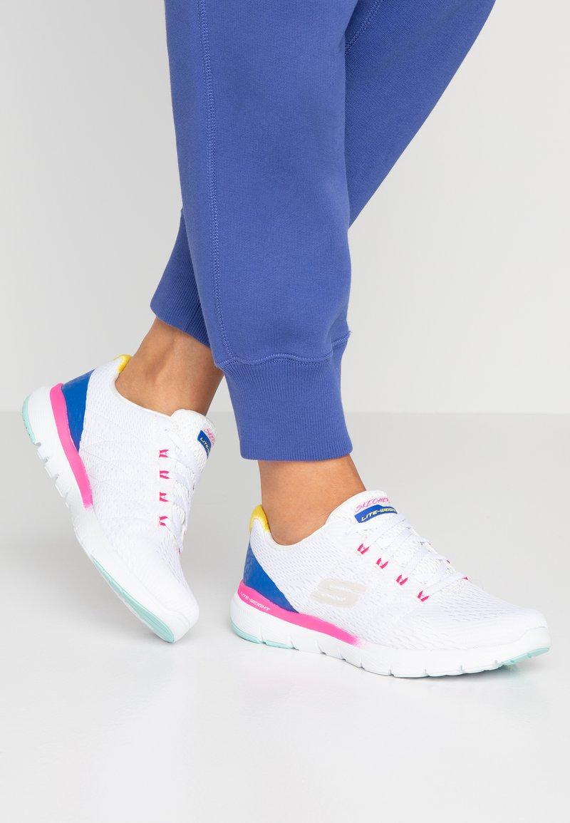 Skechers Sport - FLEX APPEAL 3.0 - Sneakers - white/multicolor