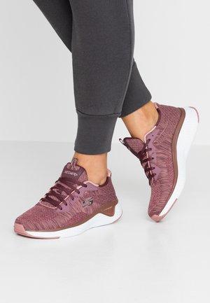 SOLAR FUSE - Sneakers - dark mauve/offwhite