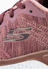 Skechers Sport - SOLAR FUSE - Tenisky - dark mauve/offwhite