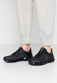 Skechers Sport - SKECH AIR  - Sneakers laag - black - 0