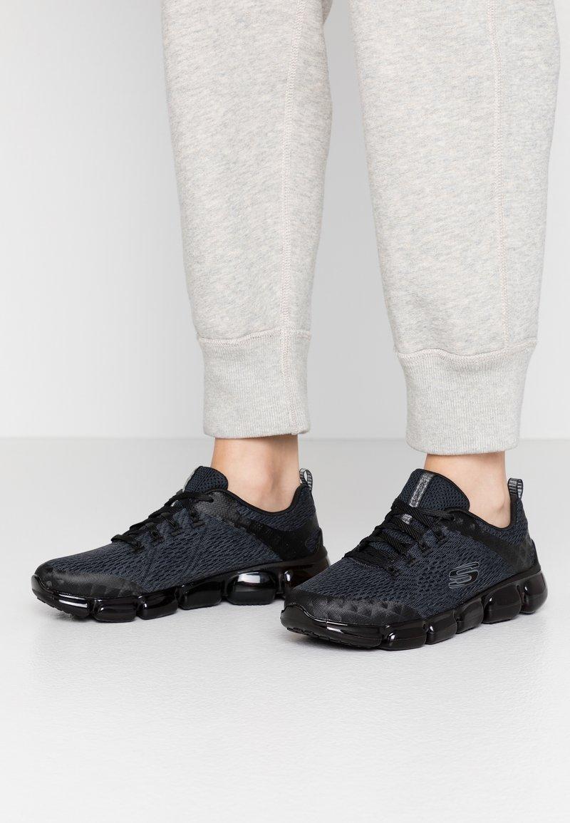 Skechers Sport - SKECH AIR  - Sneakers laag - black
