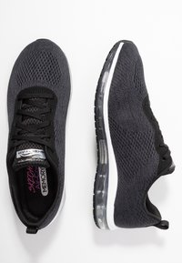Skechers Sport - SKECH AIR CINEMA - Sneakers laag - black/metallic/white - 3
