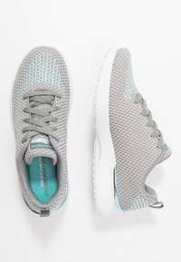 Skechers Sport - SKECH-AIR DYNAMIGHT - Trainers - gray/aqua/white - 3
