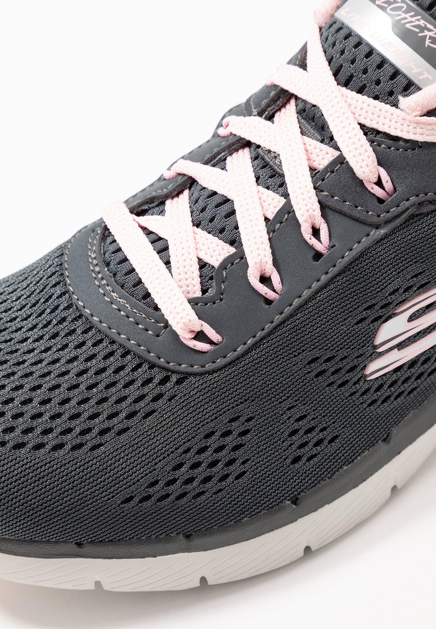 Skechers Sport Flex Appeal 3.0 - Sneakers Basse Charcoal/pink
