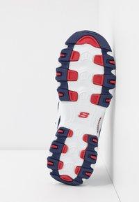 Skechers Sport - D'LITES - Zapatillas - white/navy/red - 6