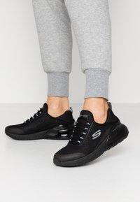 Skechers Sport - SKECH AIR STRATUS - Sneakers laag - black - 0
