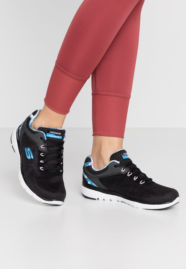 FLEX APPEAL 3.0 - Baskets basses - black/blue/pink
