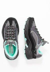 Skechers Sport - STAMINA - Sneakers laag - black/gray/mint - 3
