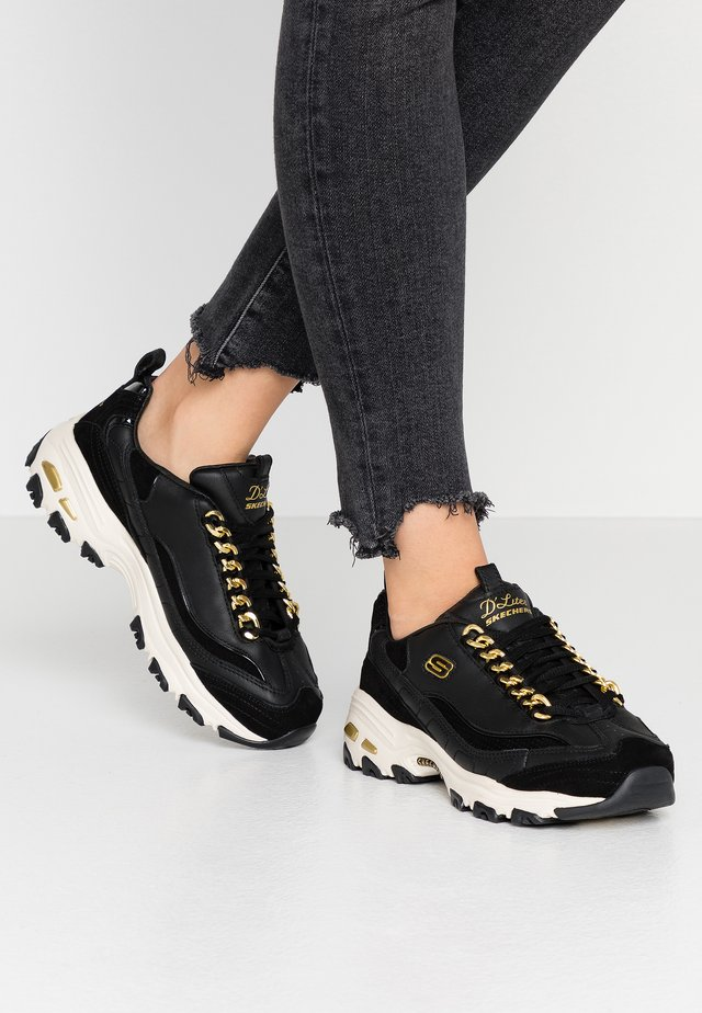 D'LITES - Trainers - black/gold/white