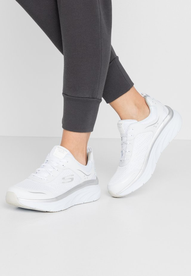 Sneakers - white/silver