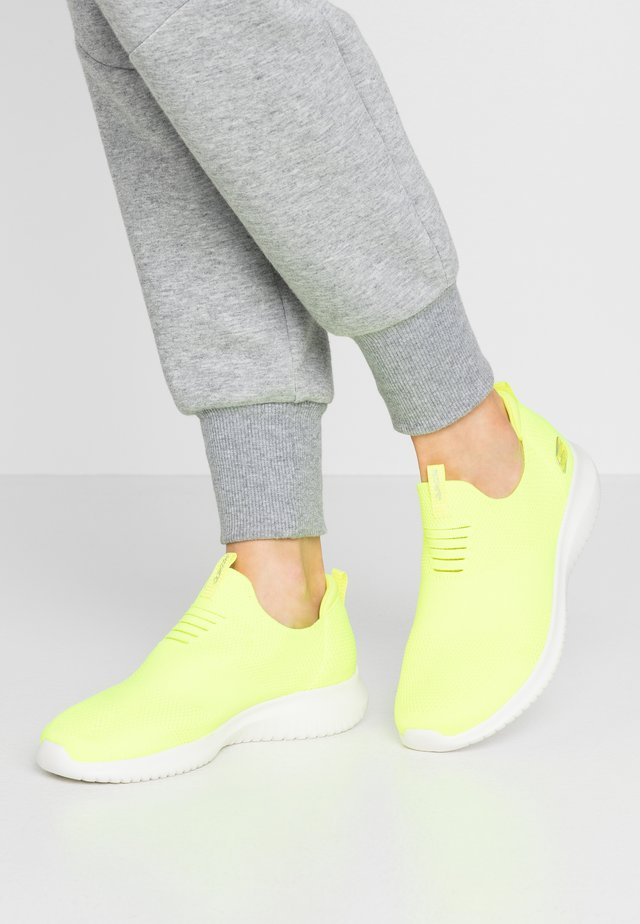 ULTRA FLEX - Slip-ons - neon yellow