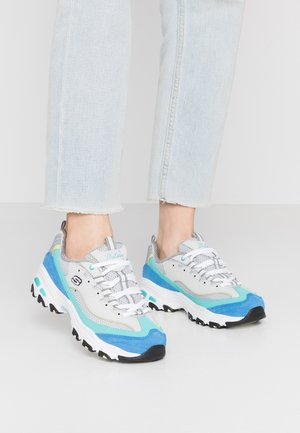 D'LITES - Sneakers laag - gray/turquoise/blue