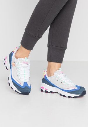 D'LITES - Sneakers laag - light gray/pink/blue/white