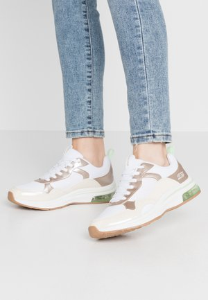BOBS AIR - Trainers - offwhite/lime