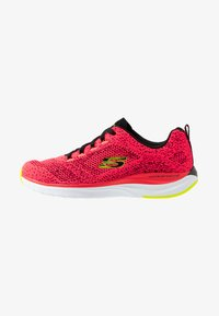 Skechers Sport - ULTRA GROOVE - Trainers - hot coral/black/lime - 1