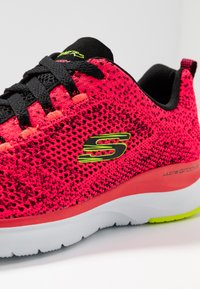 Skechers Sport - ULTRA GROOVE - Trainers - hot coral/black/lime - 2