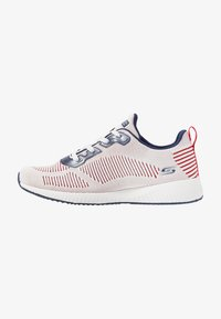 Skechers Sport - BOBS SQUAD - Sneakers laag - white/navy/red - 1