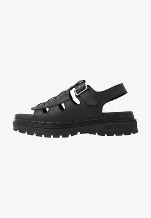 JAMMERS - Sandalias con plataforma - black