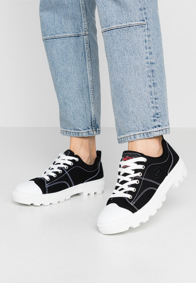 ROADIES - Sneakers basse - black/white