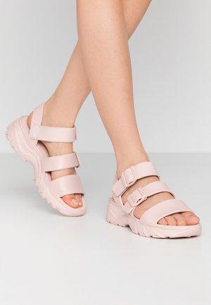 CALI - Platform sandals - light pink