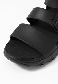 Skechers Sport - CALI - Platform sandals - black - 2