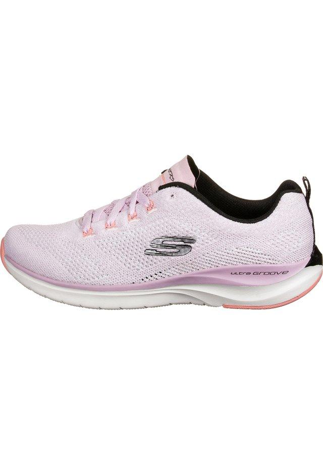 SKECHERS SPORT SNEAKER - Sneaker low - lilac/black