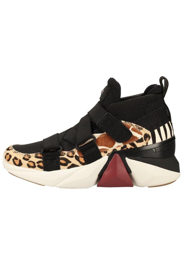 Sneakersy niskie - schwarz bmlt