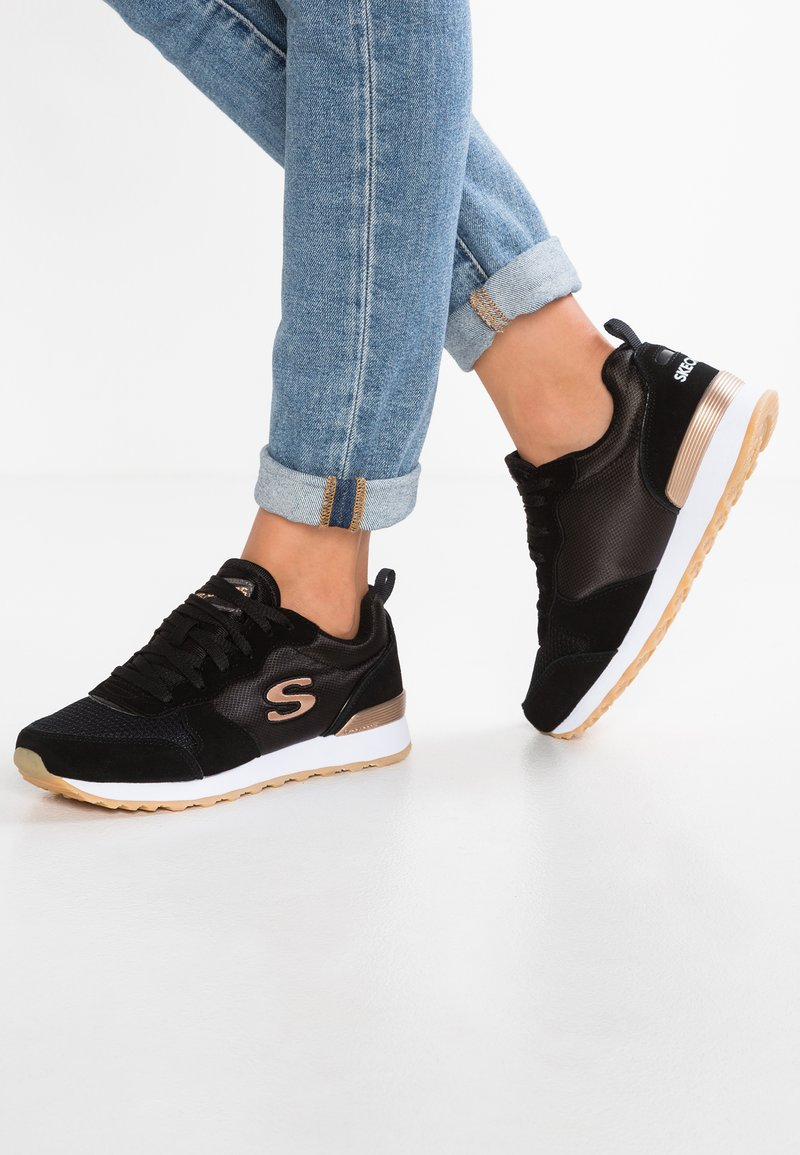 Skechers Sport - OG 85 - Trainers - black /rose gold