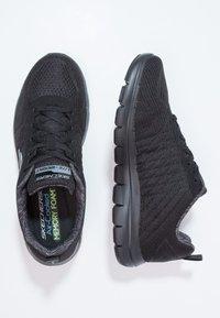 Skechers Sport - FLEX ADVANTAGE 2.0 - Sneakersy niskie - black - 1
