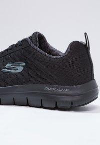 Skechers Sport - FLEX ADVANTAGE 2.0 - Sneakersy niskie - black - 5