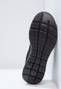 Skechers Sport - FLEX ADVANTAGE 2.0 - Sneakersy niskie - black - 4